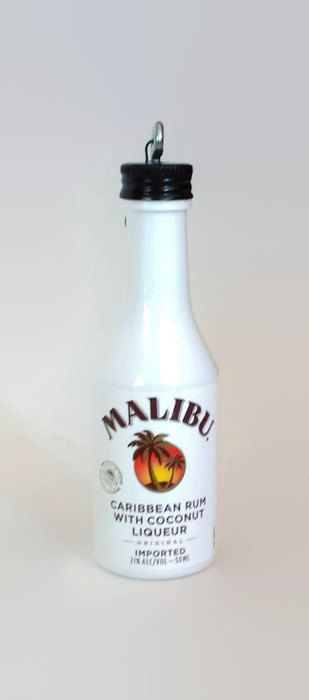 Malibu Malibu Rum With Coconut Liqueur Christmas Ornament Liquor