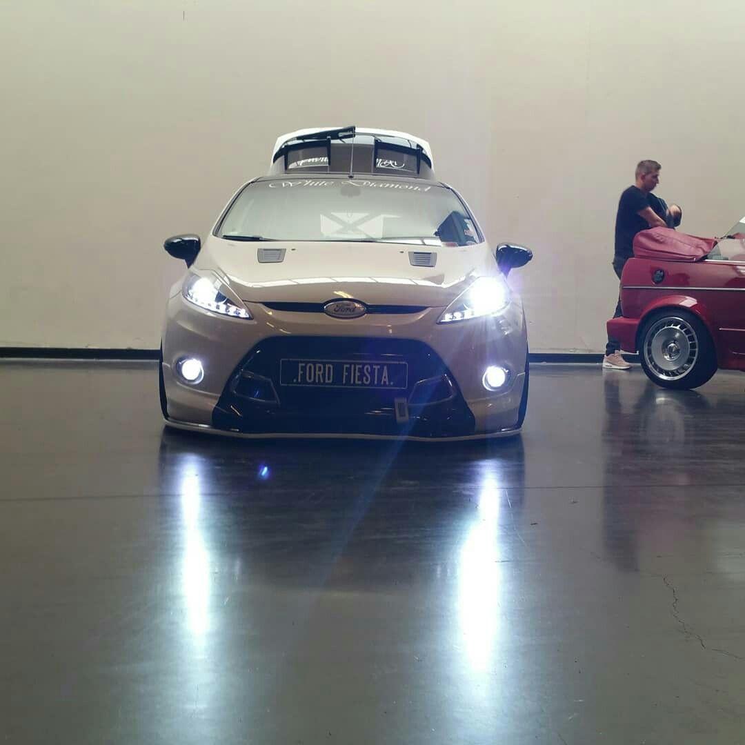 Pin Van Alexander Ten Broeke Op Ford Fiesta Mk7 White Diamond