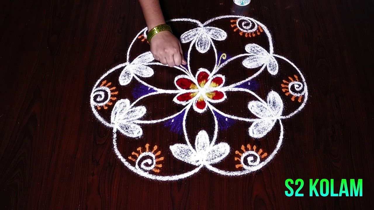 Innovative muggulu designs with  dots easy kolam rangoli for beginners also best design images in rh pinterest