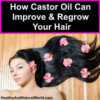 How Castor Oil Can Improve and Regrow Your Hair...also for stretch marks, dark spots and more !!!...