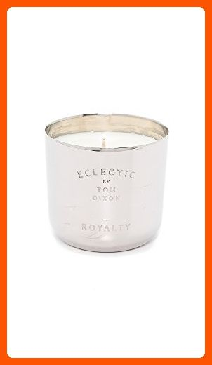 Tom Dixon Scented Candle, Royalty - Medium - Silver - Fun stuff and gift ideas (*Amazon Partner-Link)