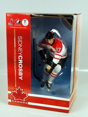 b0a95b62a McFarlane Toys NHL Sports Picks 12 Inch Deluxe Action Figure Sidney Crosby Team  Canada    Want to know more