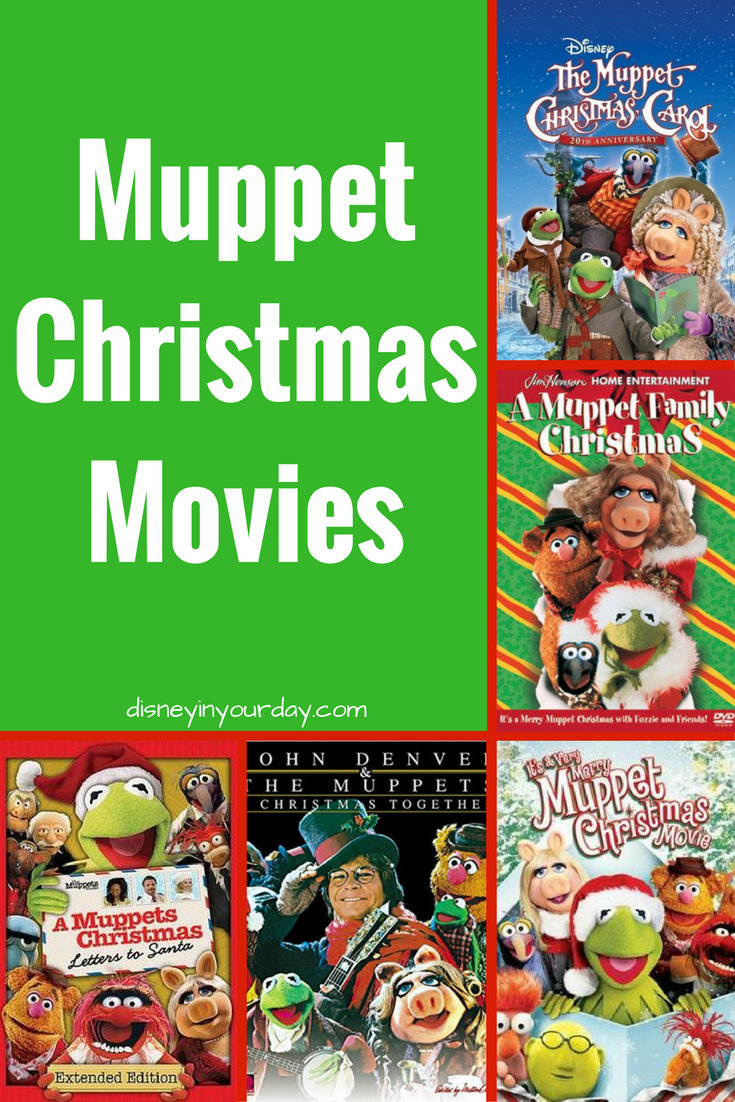 Muppet Christmas Movies Disney In Your Day Muppets Christmas Muppets Christmas Movies