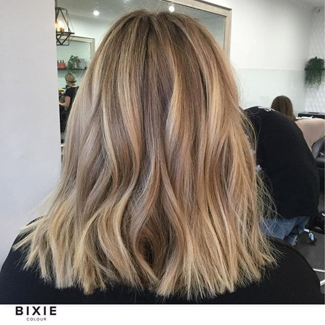 Photo of Honey and beige tones with a dash of creamy. No bleach is used here, only …, …