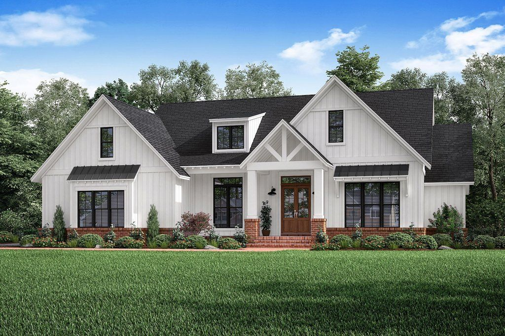 Craftsman Style House Plan 3 Beds 2 5 Baths 2303 Sq Ft Plan 1067 2 Craftsman Style House Plans Craftsman House Plans Farmhouse Style House