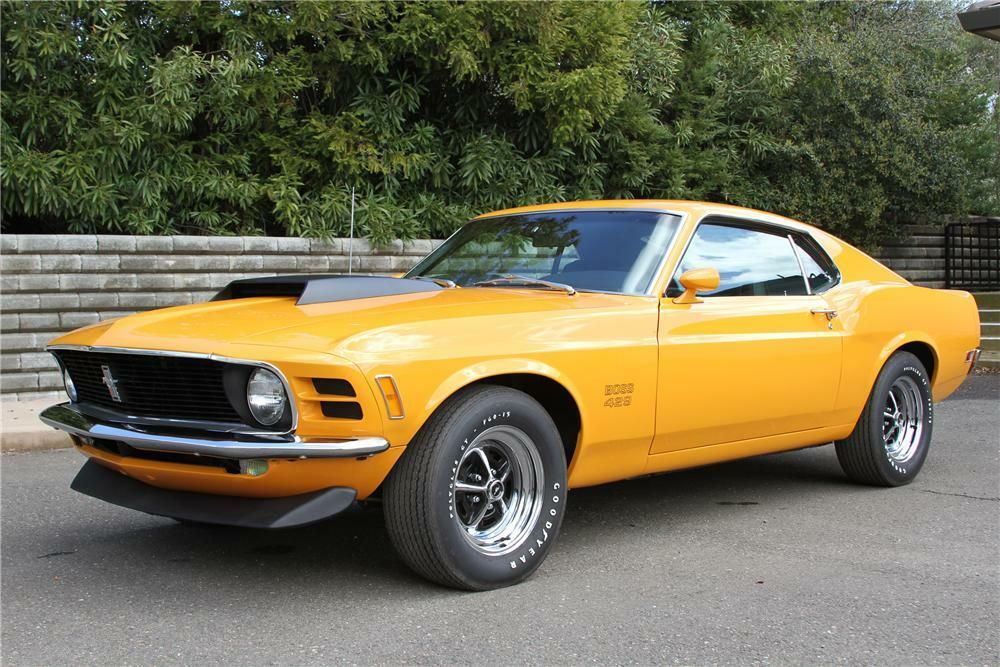 1970 Ford Mustang Boss 429 Fastback Ford Mustang Boss Classic
