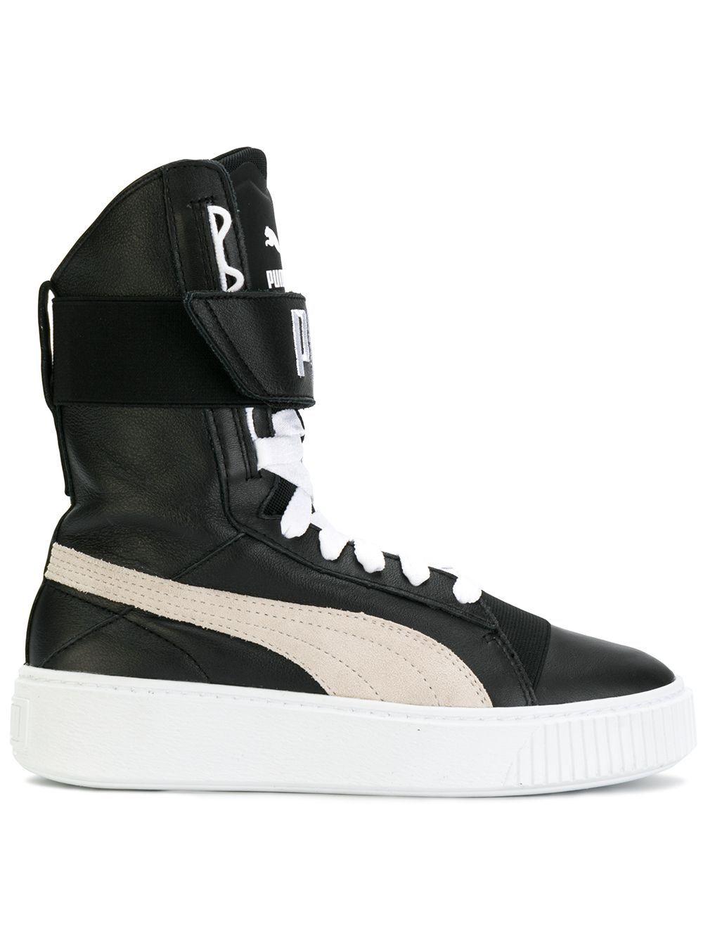 PUMA | platform boots #Shoes #PUMA in 2019 | Puma sneakers