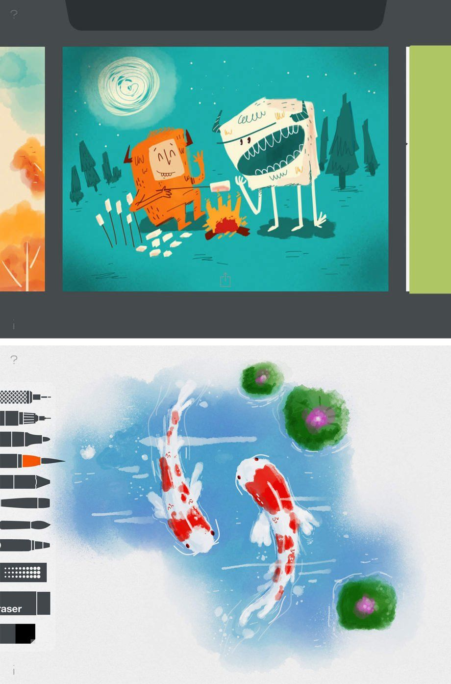 the 8 best ipad apps for artists digital arts kids stories