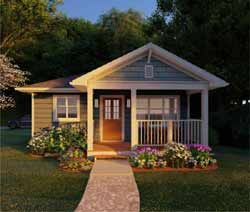 Country House Plan 1 Bedrooms 1 Bath 624 Sq Ft Plan 32 131