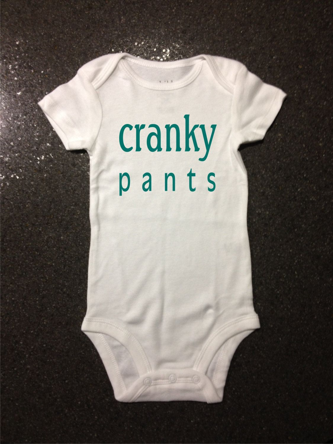 739f14639 Cranky Pants bodysuit t-shirt