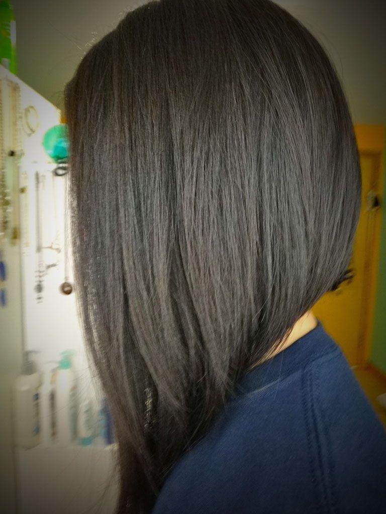 Medium Length Inverted Bob Back View | Short Hairstyles I ...