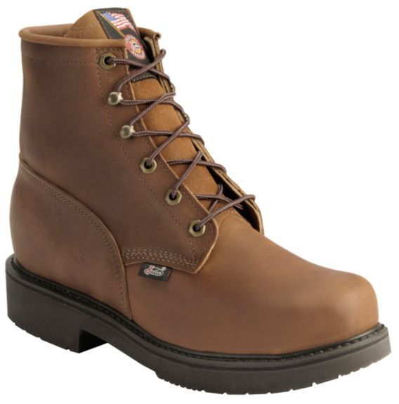 a4b4d3c4904 Justin Lace-Up Work Boots - Steel Toe available at #Sheplers ...