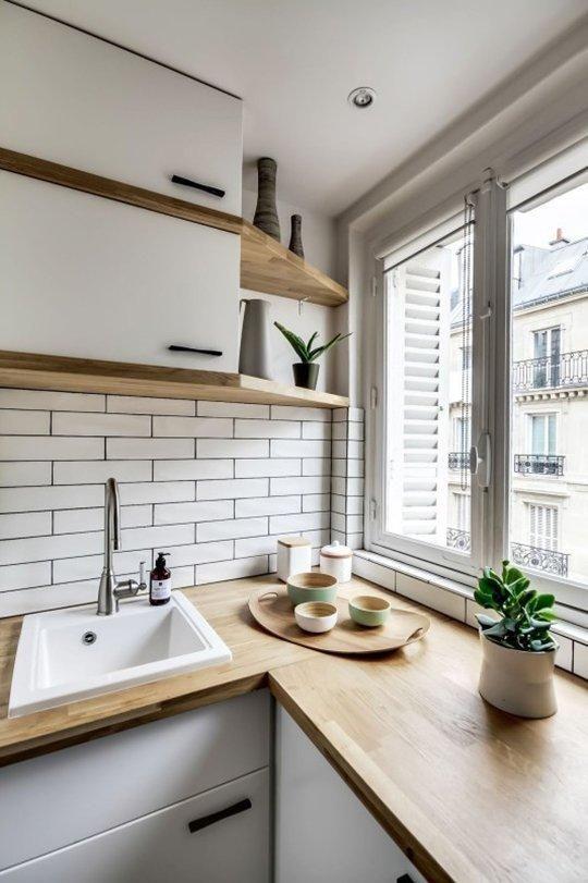 Дизайн маленькой кухни | 판교원마을 | Pinterest | Küche esszimmer ...