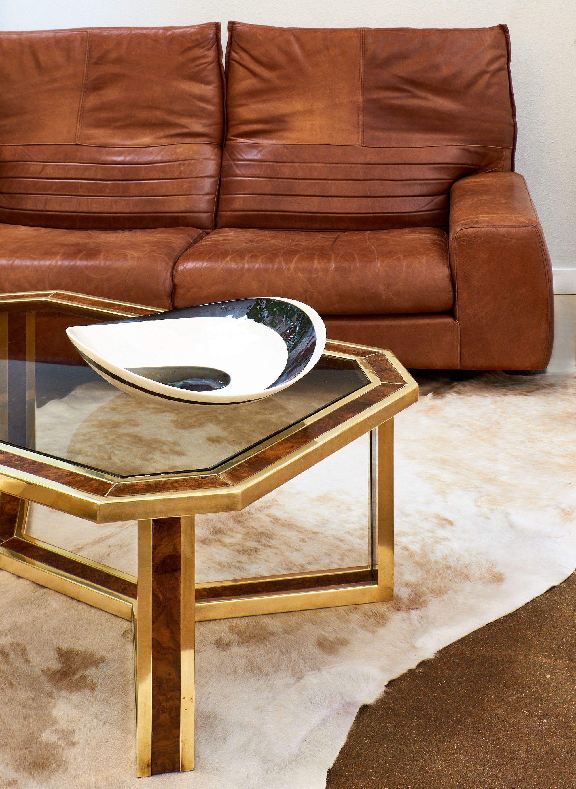 Vintage Italian Leather Sofa With Foldable Back Jean Marc Fray Italian Leather Sofa Leather Sofa Mid Century Modern [ 2737 x 2000 Pixel ]
