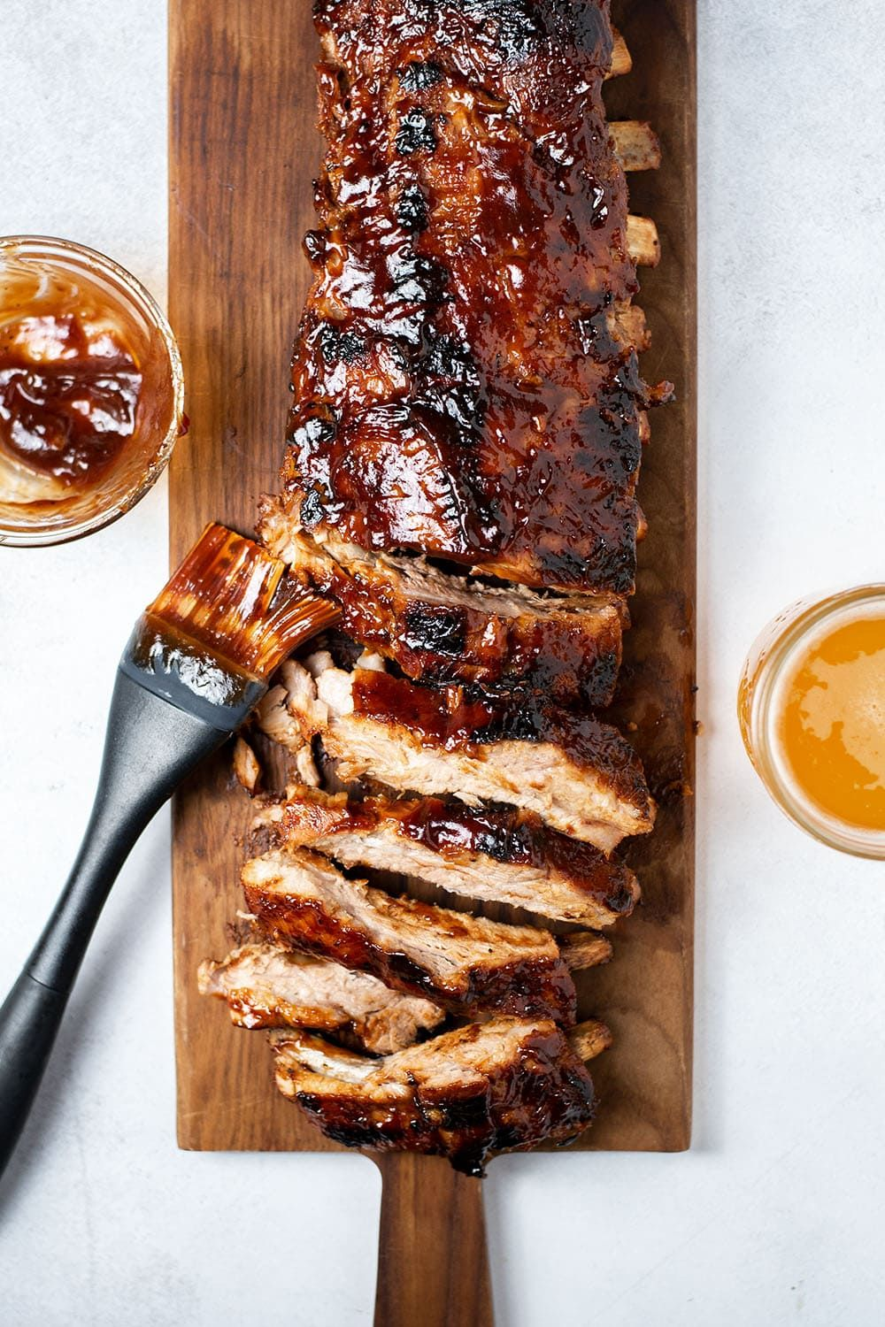 Oven Baked Bbq Ribs Recipe Baked Bbq Ribs Oven Baked Bbq Ribs Recipe Food