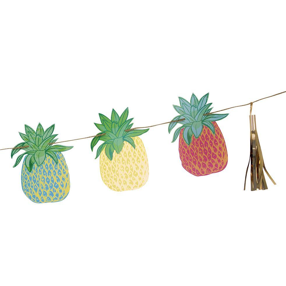 Tropische Fiesta Ananas Bunting