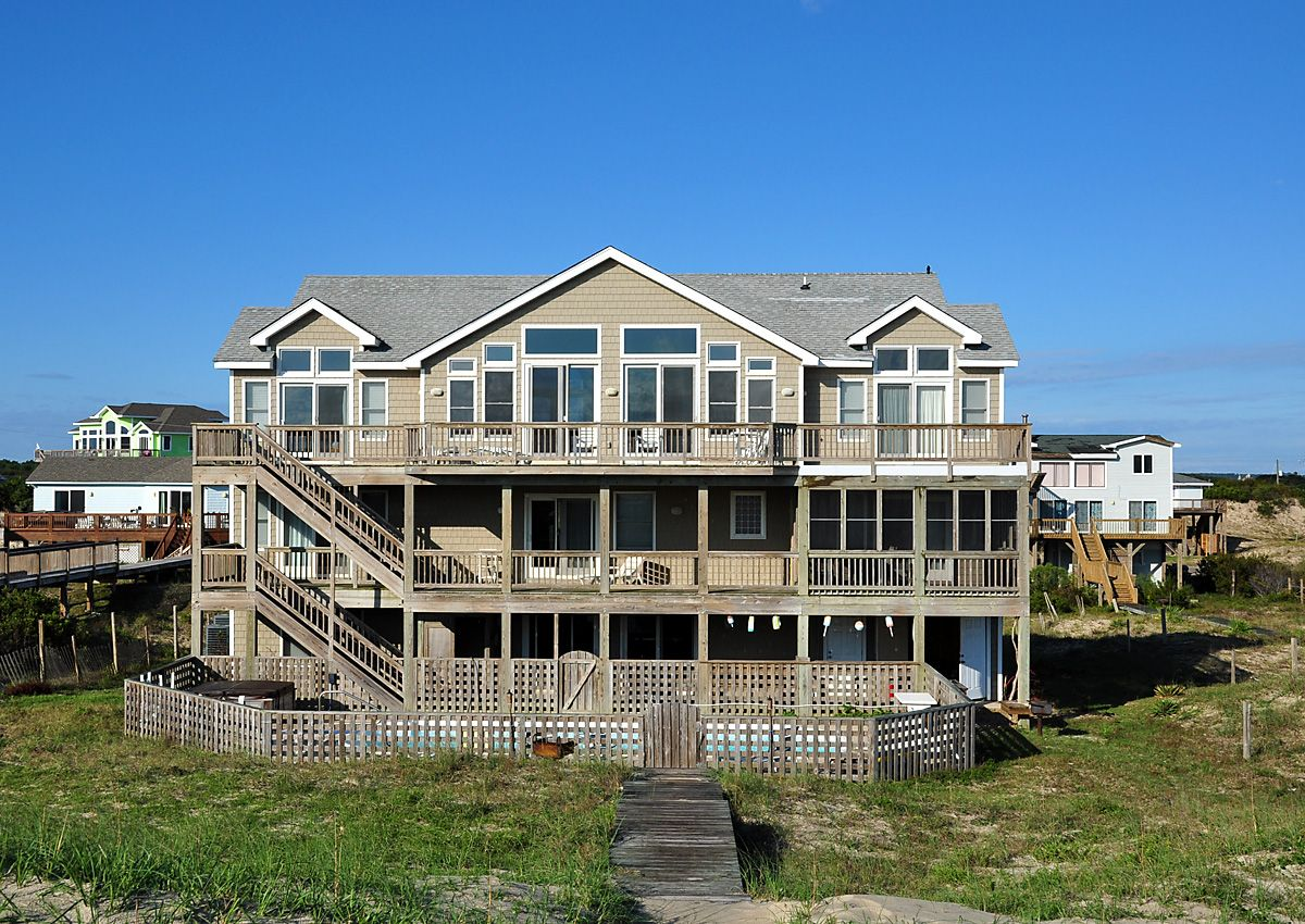 Carova Paradise | Oceanfront vacation rentals, Outer banks ...