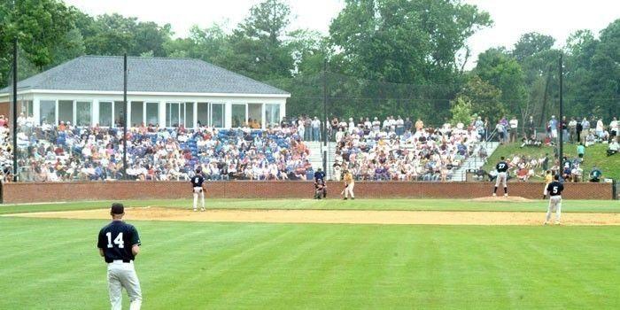 Christopher Newport University Captains Park Baseball Stadium Captain Park