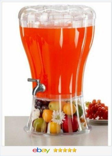 Unbreakable #Beverage Dispenser #Ice Cone Drink Summer #Pool Party Steel Faucet Fun