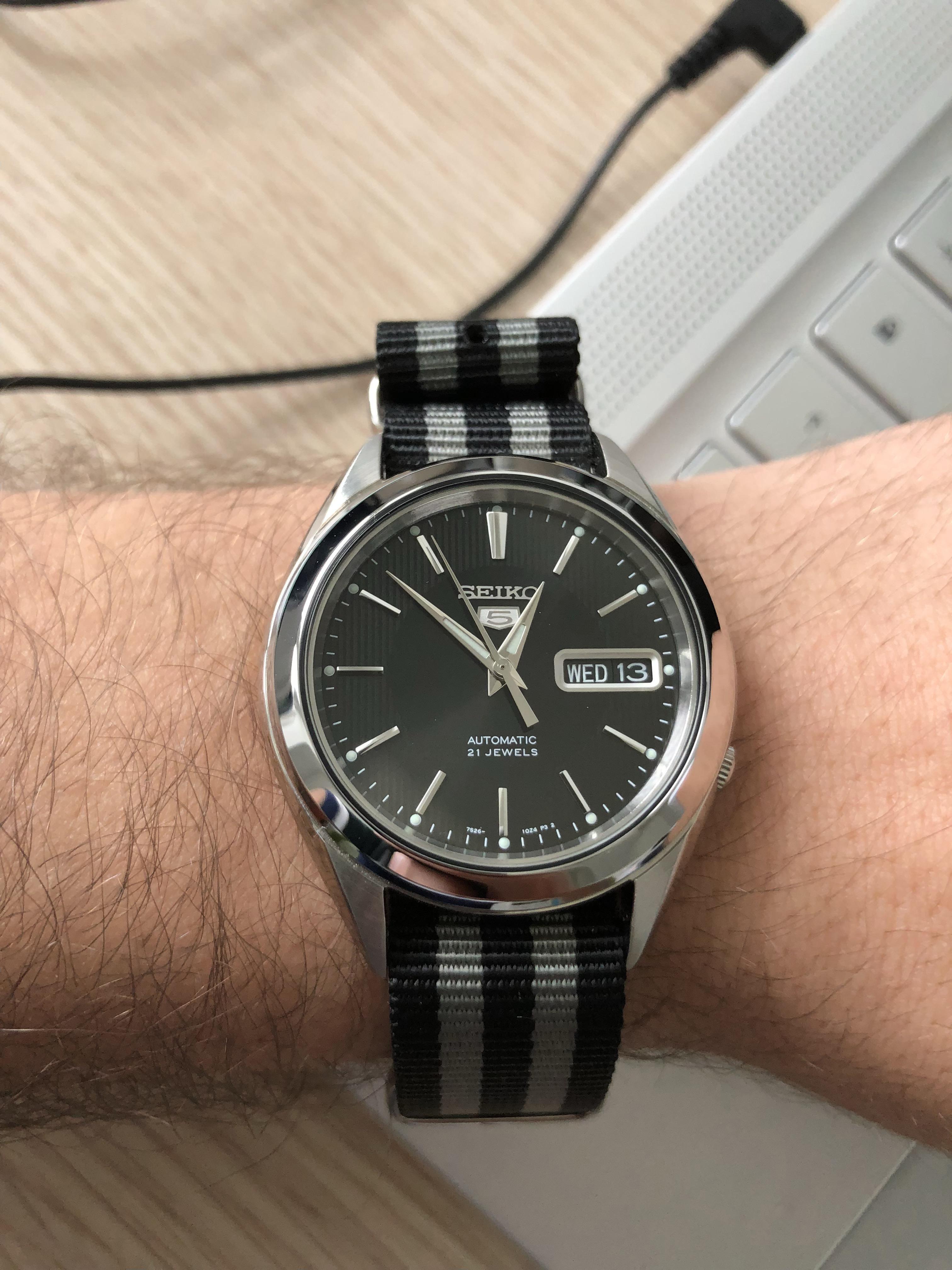 Seiko 5 Snkl23 My Second Automatic Watch Watches Seiko