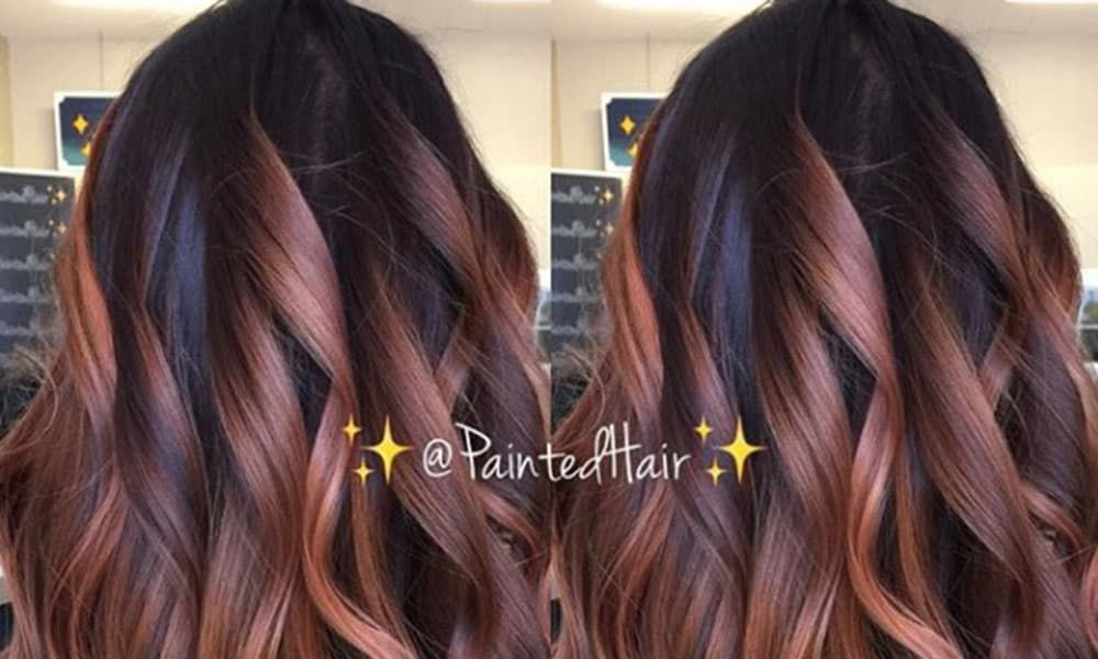 Try The Rose Gold Hair Color Trend Without Bleaching Your Whole Head