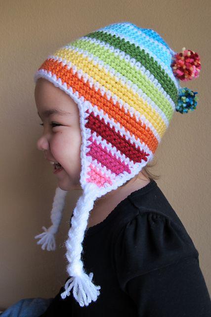 d28a7d92dd96c9 Snow Day! pattern by Marken of The Hat & I | Crochet | Crochet hats ...