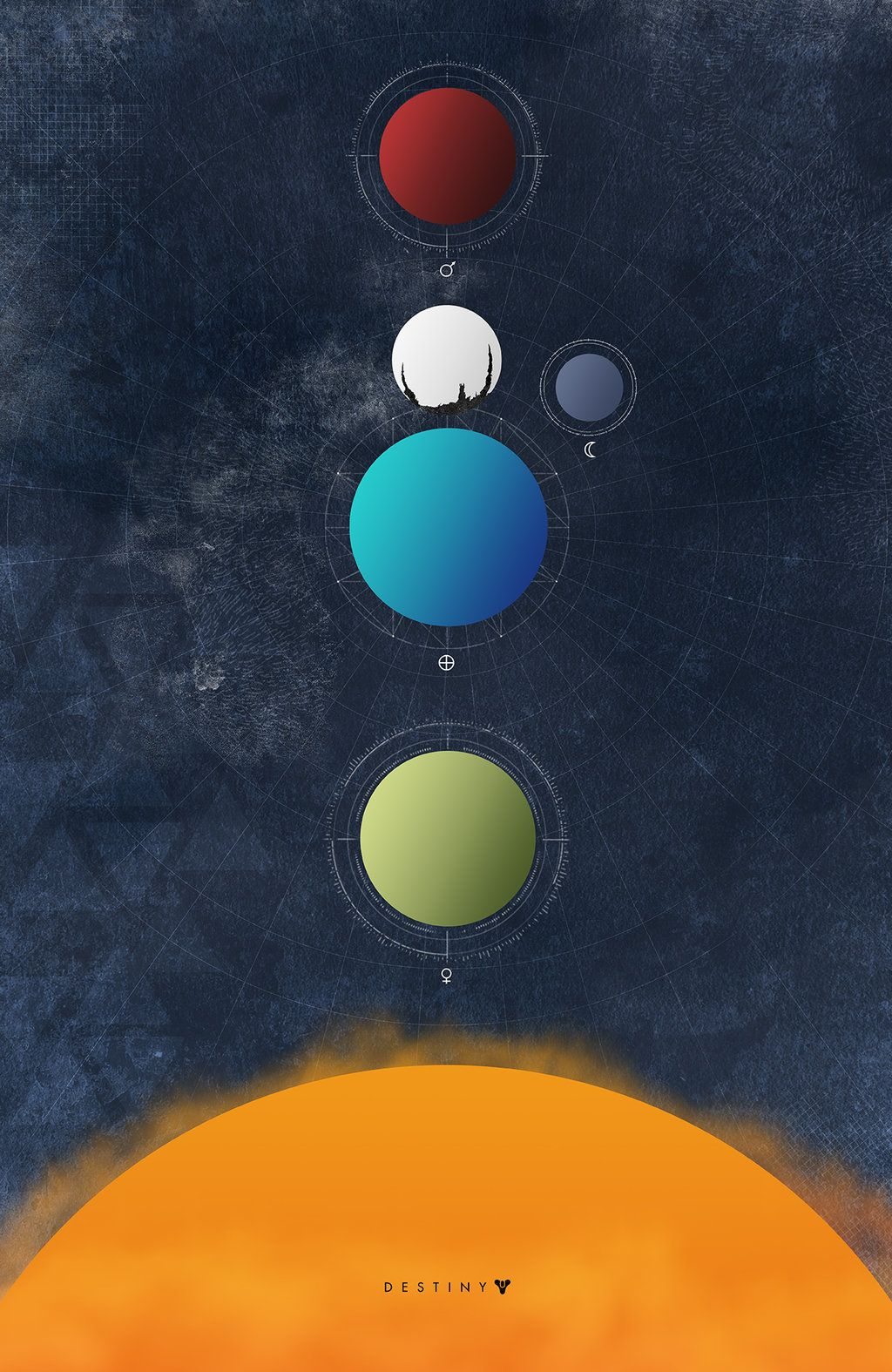 Destiny Minimalist Poster Destiny Backgrounds Minimalist Poster Destiny Game