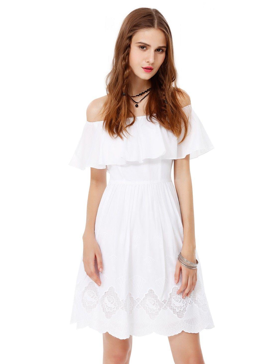 77ffebd0b2 Alisa Pan Off Shoulder Boho Summer Dress