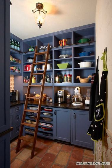 Eye Candy: 7 Drool-Worthy Kitchen Pantries   Houzz, Pantry and ... on