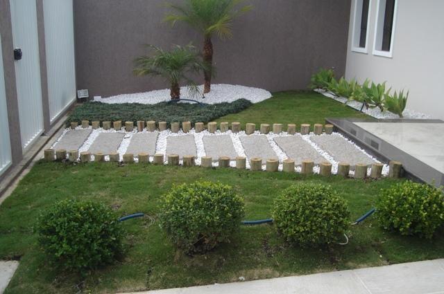 Projeto paisagismo residencial backyard pinterest for Casas e jardins simples