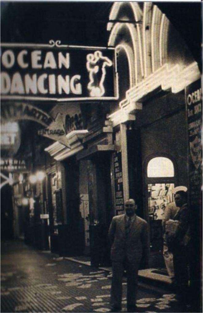 Ocean Dancing. Cabaret de la avenida Leandro N. Alem. Foto 1939. Seguro que esto no lo conocías... | Fotos de buenos aires, Viaje argentina, Argentina