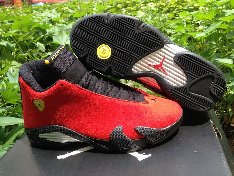 53ded6123185 Hot Sale authentic quality super perfect Jordan 14 Ferrari at the cheapest  prices.