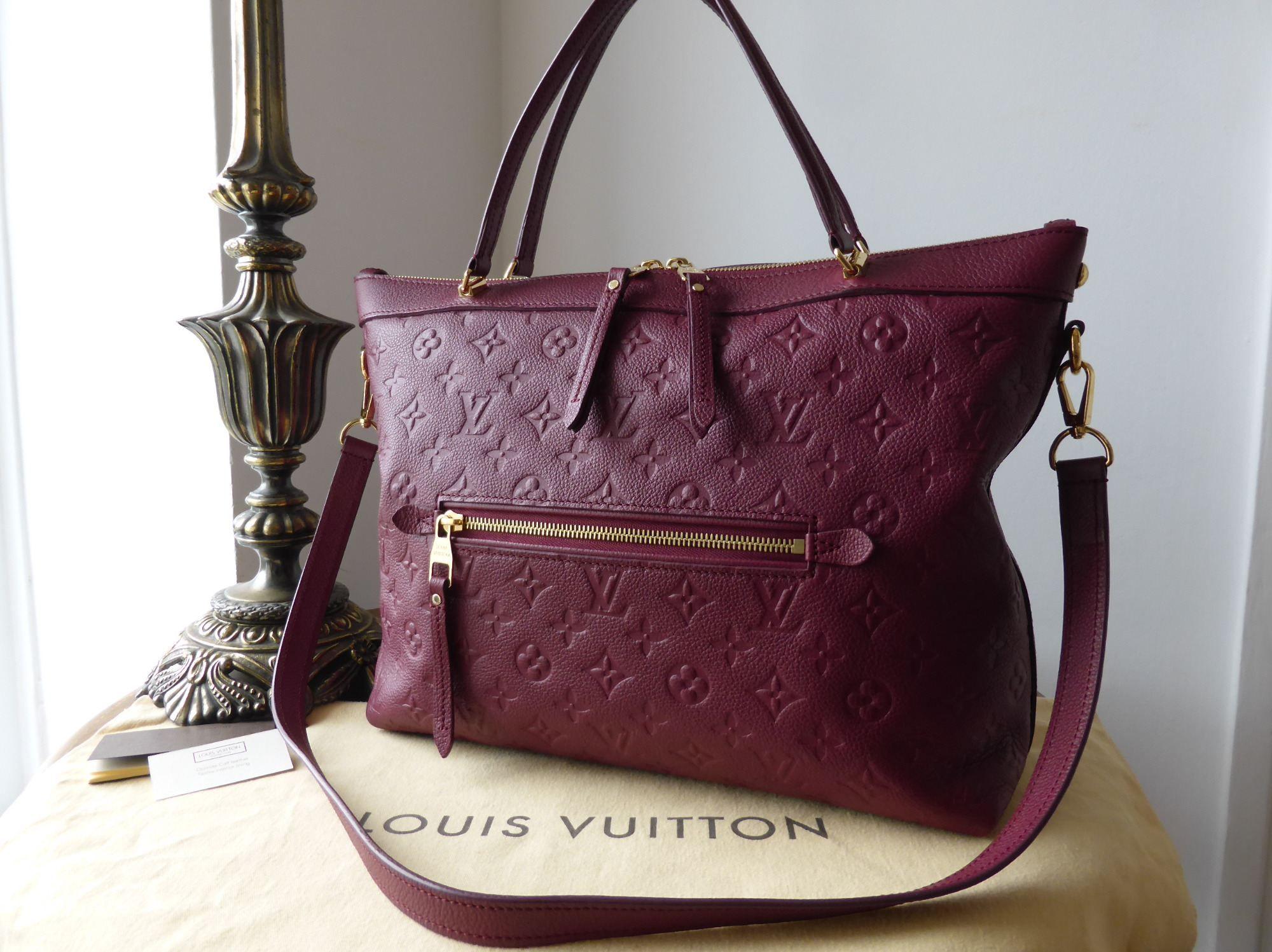 Louis Vuitton Bastille MM in Monogram Empreinte Aurore - SOLD