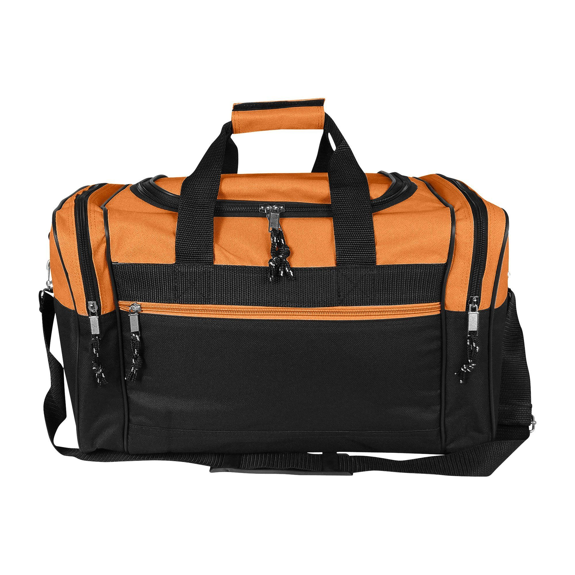 FEATURES  Original U-shape main zippered compartment, two end zippered  pockets, front zippered pocket, adjustable and removable shoulder strap. d7489427c2