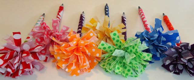 Office Pens Who S Got Spirit Fabric Pen Crafts For Girls Cute