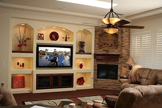 Media Wall Designs What The Community Has To Say About - Built in media center designs