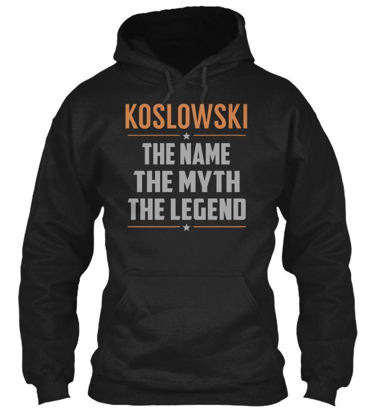 KOSLOWSKI - Legend Name Shirts #Koslowski