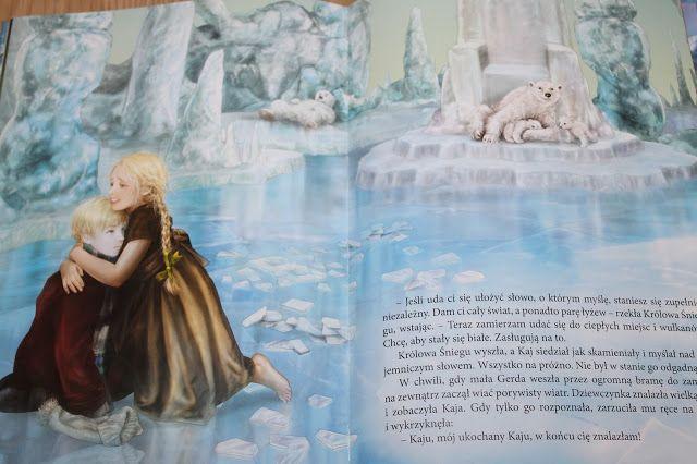 cynamonkimamy: Królowa Śniegu wyd. Olesiejuk