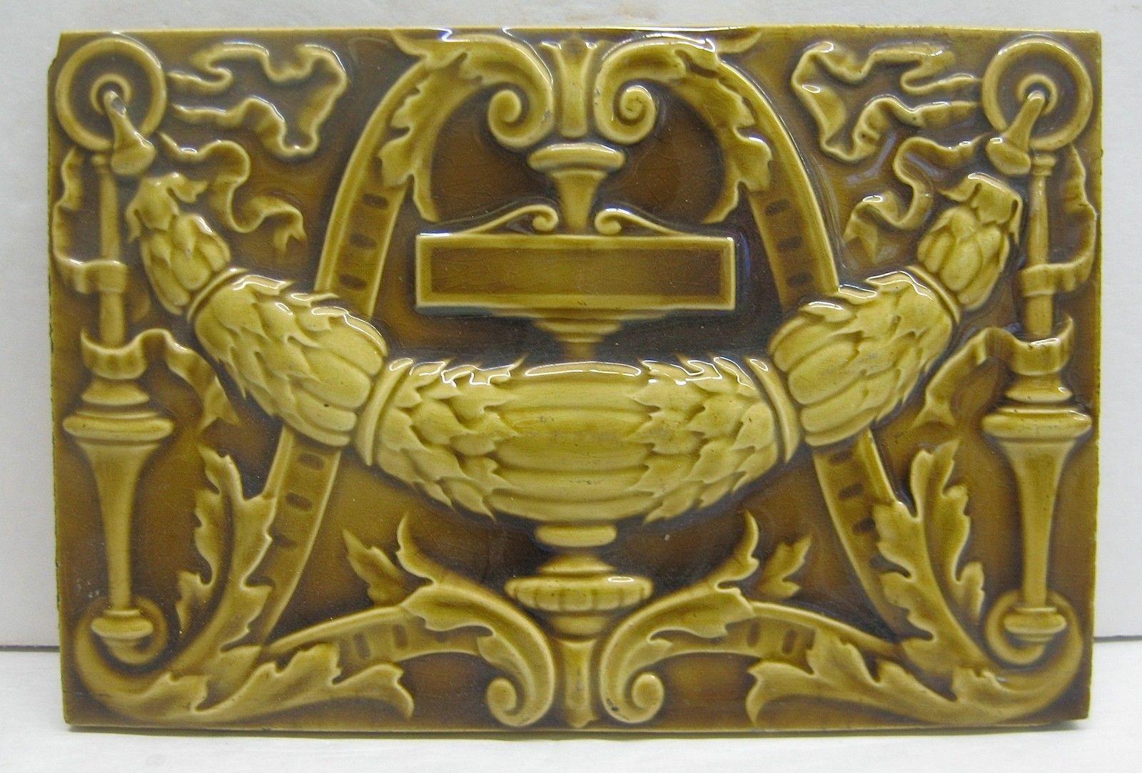 Minton China Works Antique Tile | eBay