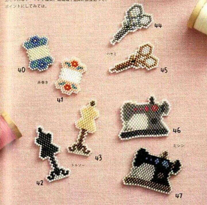 La couture vous inspire voici quelques broches MIYUKI trop mignonnes. Retrouvez tout le matériel nécessaire sur https://la-petite-epicerie.fr/fr/720-perles-miyuki-brickstitch-peyote-acheter-pas-cher
