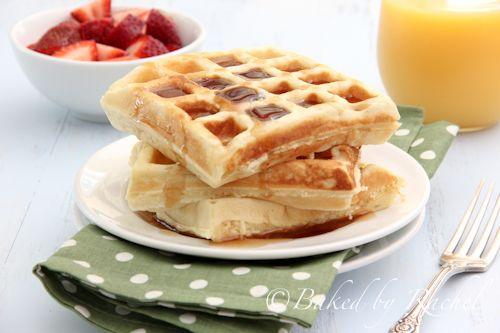 Buttermilk Waffles Baked By Rachel Buttermilk Waffles Sweet Breakfast Waffles Recipe Homemade