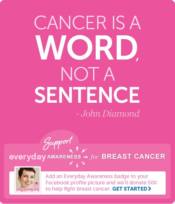 Cancer Is A Word Not A Sentence John Diamond Everything You
