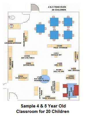 preschool floor plans