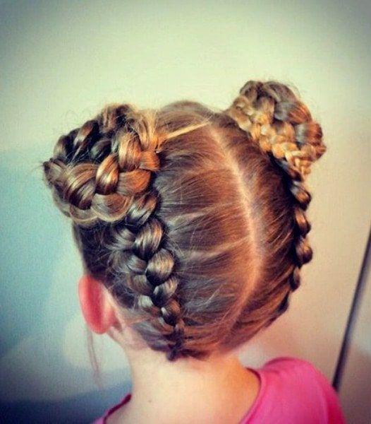 20 Freche Frisuren Fur Kleine Madchen Hair Styles Cool Hairstyles Little Girl Hairstyles