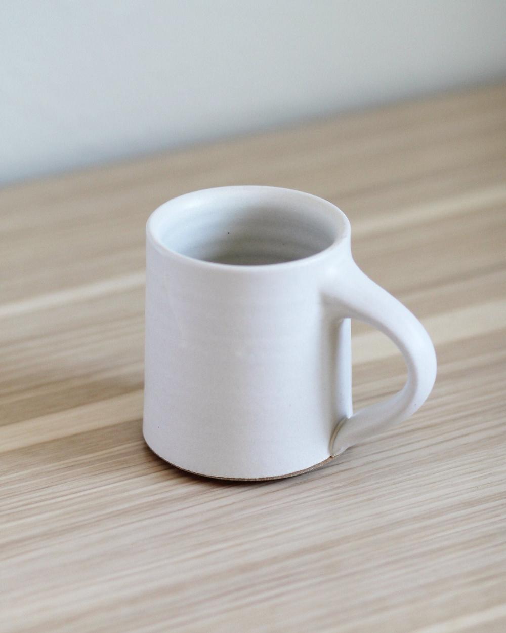 White Mug Ceramic Mug Hand Thrown Mug Handmade Mug Coffee Etsy Pottery Mugs Mugs Ceramic Mug