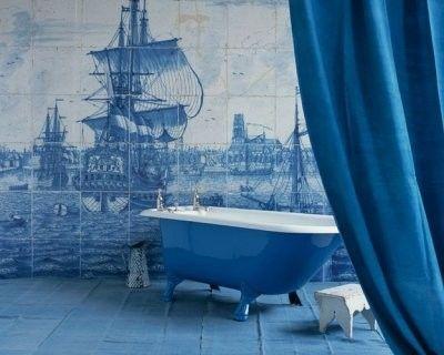bad schiff fliesen blau wei bad. Black Bedroom Furniture Sets. Home Design Ideas