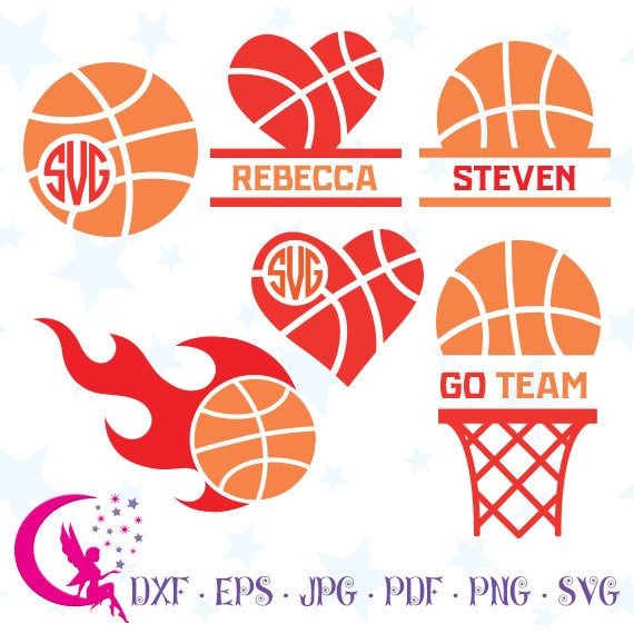 Basketball Monogram, Basketball Cut Files, Basketball Sports SVG, Sports Monogram, Instant Download,0-31f