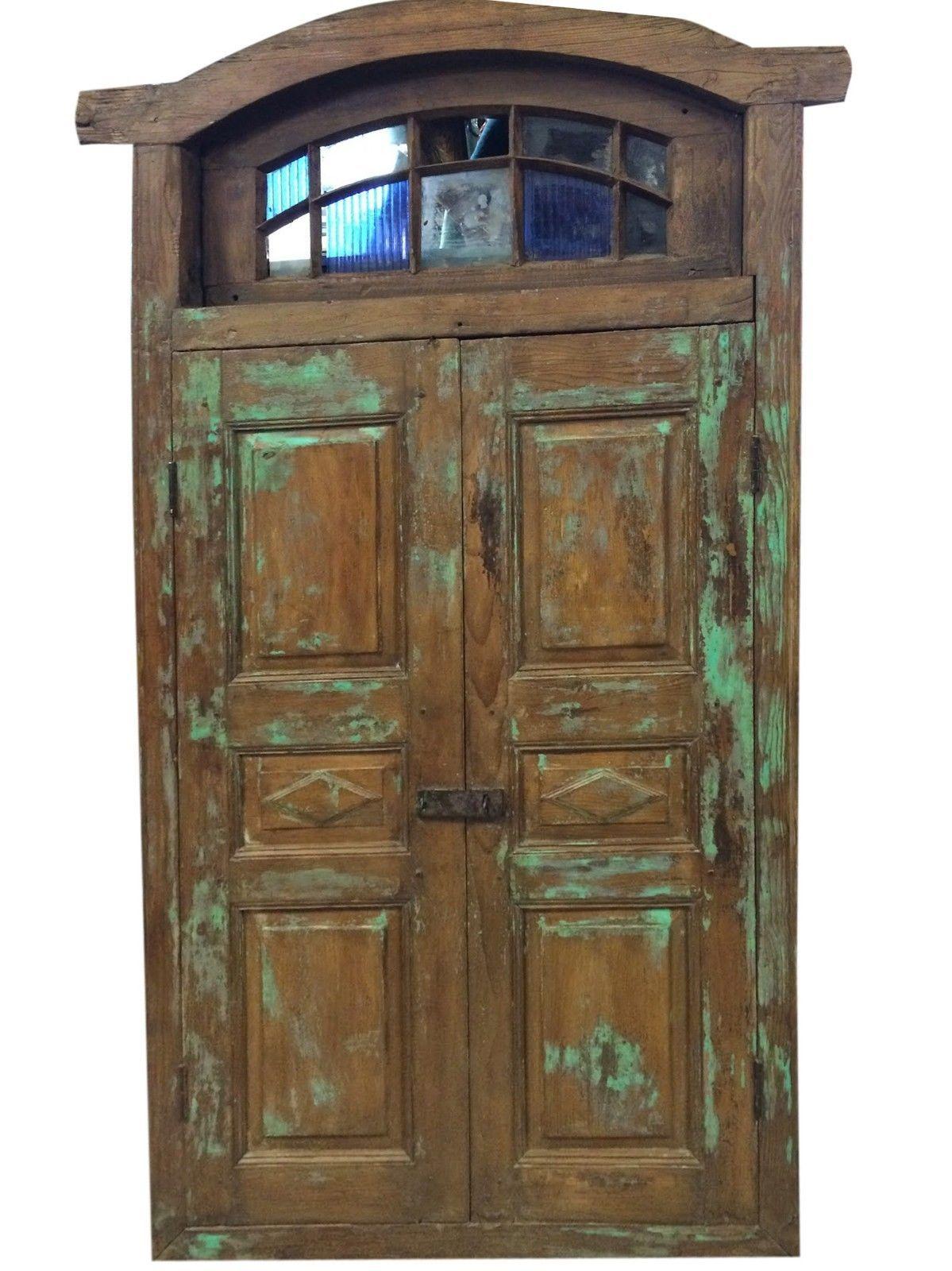 Antique Jaipur Door Vintage Rustic Terrace Window Architectural ...