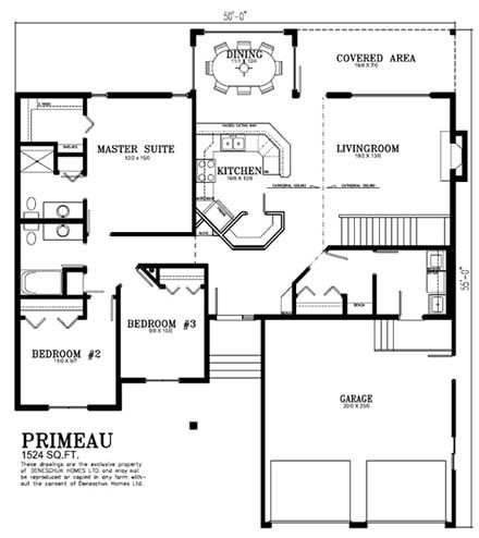Deneschuk Homes 1500 - 1600 sq ft Home Plans RTM and Onsite | house ...