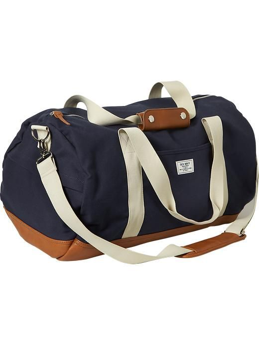 Men's Canvas Duffel Bags Product Image - bag shopping sites, cool ...